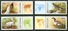 BURKINA FASO 1996 EXOTIC BIRDS SET OF 4 STAMPS MINT COMPLETE!