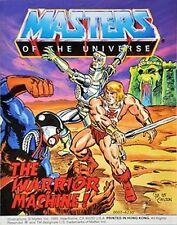HE-MAN MASTERS OF THE UNIVERSE MOTU MINI COMIC GIVEAWAY PROMO WARRIOR MACHINE