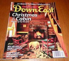 Down East Magazine Dec 2012 - Belfast Maine - Build a Home on a Budget  & More