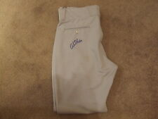 Andrew Brackman Signed Autographed GAME WORN Pants - W/COA Thunder