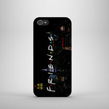 FRIENDS TV SERIES BLACK LOGO HARD PHONE CASE COVER FOR IPHONE/SAMSUNG MODELS