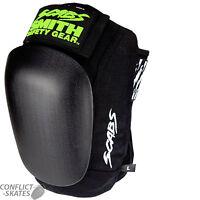 "SMITH ""Scabs"" Skate Knee Pads Skateboard Roller Derby S M L XL BLACK Protection"