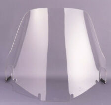 """Honda GL 1200 Goldwing - 25-1/2"""" Tall Wide Clear Wraparound Touring Windshield"""