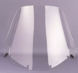"""1200 Honda GL1200 Goldwing - 25.5"""" Tall Wide Clear Wraparound Touring Windshield"""