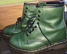 VINTAGE Doc Dr. Martens Mens UK 6 Boots Green