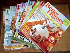 8 Issues Better Homes and Gardens Magazine 1 year 2011
