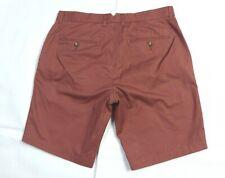 Reiss Wicker Short Zip Fly 100% Cotton Pant Trouser Size 32