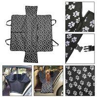Pet Dog Rear Back Car Seat Cover Protector Cushion Waterproof Mat Travel Blanket