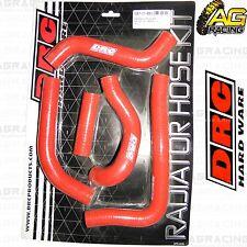DRC Red Radiator Rad Hose Kit For Suzuki RMZ 450 2012 12 Motocross Enduro New