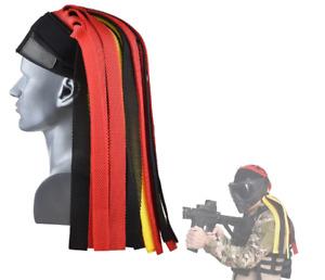 Airsoft Paintball Tactical Headgear Braided Headwear Forehead Helmet Mask Cospla