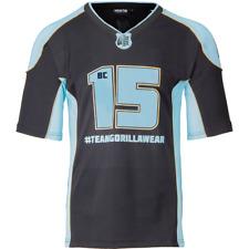 Gorilla Wear Athlete T-Shirt 2.0 Brandon Curry - Black/Light Blue Bodybuilding