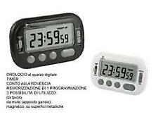 Timer Digitale cucina Display LCD Nero Lowell U-t2687n