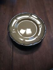 Set of 6 Bread & Butter Plates, Metlox PoppyTrail La Mancha Green 6 5/8""