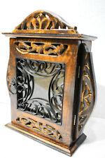 Handmade 100% Wooden Wall Hanging Decorative Key Box/Key Rack Cabinet/Hanger