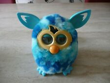 ***HASBRO OFFICIAL FURBY BOOM BLUE WAVES INTERACTIVE ELECTRONIC PET TOY***