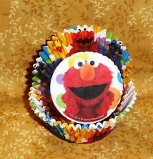 Elmo and Friends,Sesame Street,Cupcake Papers,Bake cups,Paper,50 Ct.,Wilton