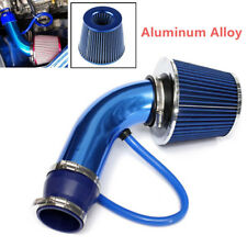 Universal 3'' Car Cold Air Intake Filter Alumimum Induction Kit Pipe Hose System