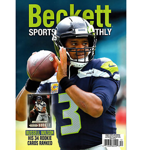 Beckett Sports Card Monthly #12 RUSSELL WILSON ON COVER SHIPS IN BOX