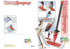 HENRY MICROFIBRE FLOOR CLEANING Manual Spray Mop Mopping RED Numatic HM40 627674