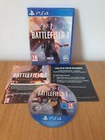 Battlefield 1 PS4 Playstation 4 **FREE UK POSTAGE!!**