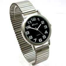 Gents Quartz Watch by Ravel with Expanding Bracelet Silvertone 07