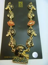 Jacksonville Jaguars 21 Charm Necklace  - VIntage NFL Jewelry  Item