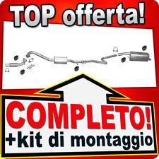 Scarico Completo FORD FIESTA MK5 1.6 TDCI 90CV 2-Volumi 04-05 Marmitta +Tubo B71