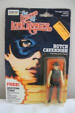 VINTAGE 1981 GABRIEL THE LEGEND OF THE LONE RANGER ACTION FIGURE BUTCH CAVENDISH