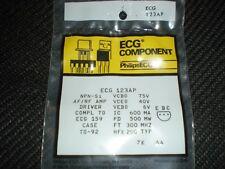 ECG123AP NPN TRANSISTOR TO-92 REPL NTE123AP