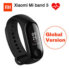 Original Xiaomi Mi Band 3 Smart Watch Heart Rate Monitor Waterproof 50m OLED New