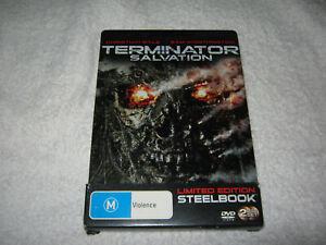 Terminator: Salvation - Limited Edition Steelbook - VGC - DVD - R4