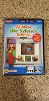 ALL ABOUT LIFE SCIENCE ACTIVITIES CD-ROM KIDS EDUCATIONAL