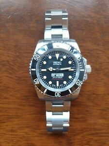 Seiko Nh35 Modded OLD meets NEW Submariner Vintage Divers Watch Automatic comex