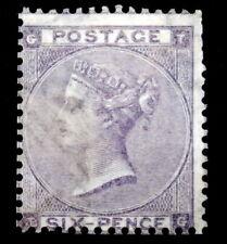 GB - 1865: Queen Victoria 6p lilac, Scott# 45