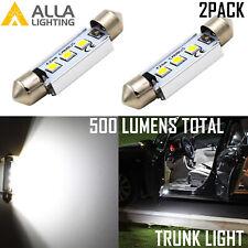 Alla Lighting LED Dome Map Light Bulbs Interior Festoon Lamps White Trunk 211-2