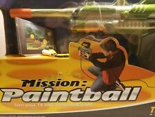 2004 Hasbro Tiger Tv Mission Paintball Game Plug and Play Game