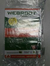 Webroot Secure Anywhere Internet Security (3 Devices) PC, MAC, Mobile,New Sealed
