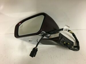 2017-2019 Lincoln Continental Left Driver Side Signal Door Mirror OEM Blind Spot