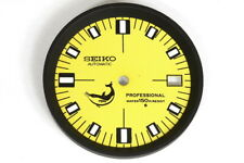 Dial for Seiko 7002-700X large divers watches - Modified yellow doxa style