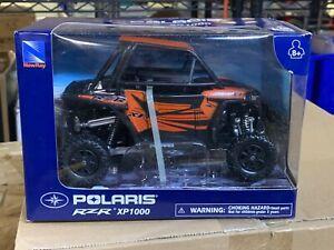 lot of x6 NEWRAY 57823 POLARIS RZR XP1000 DUNE BUGGY 1:18 ORANGE ATV DIECAST