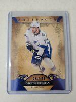 Victor Hedman 2020-21 Upper Deck UD Artifacts Blue Parallel 245/499 Lightning