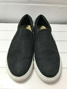 Ladies Black Suede Slip On Clarks Shoes - UK Size 4.5   B22