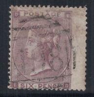Großbritannien 1862 Mi. 20 I Gestempelt 60% 6 Pence