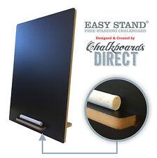 A4 CHALKBOARD BLACKBOARD TABLE TOP DISPLAY LIQUID CHALK PACK OF 4  (EAS)