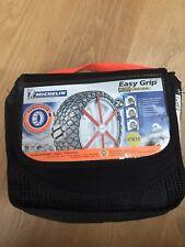 Michelin Easy Grip Textile Snow Chain K15 ABS ESP Comp 195/55/16 / Fit MK2 Prius