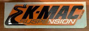 K MAC SUSPENSION STICKER (170 X 47MM)