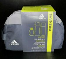 Adidas Pure Game Set Toiletry Bay Eau De Toilette Body Hair Face Deo Body Spray