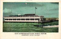 Vintage Postcard - Guy Lombardo's East Point House Long Island New York NY #4303