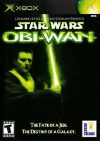 Star Wars Obi-Wan Xbox Original Game Disc Only 5q Platinum Hits