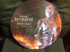 """Michael Jackson """"History Future"""" Vinyl Picture Disc LP"""